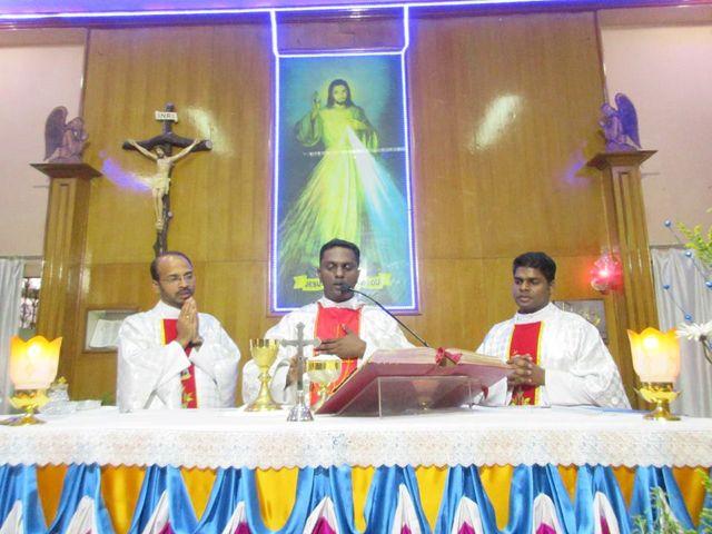 Feast of Divine Mercy in Vasai, Mumbai