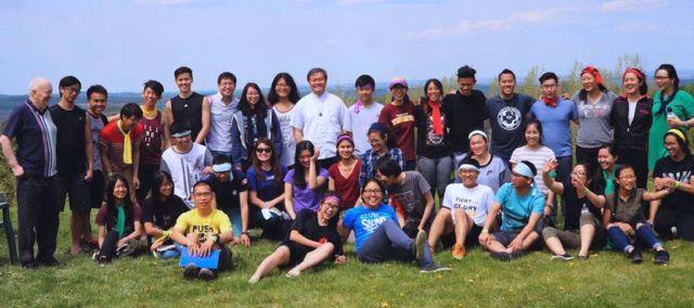 SCJ seminarians lead youth retreat in Toronto