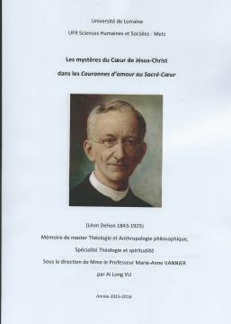Succès d'examen pour le Fr. Ai Long Vu SCJ