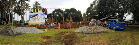 Dansolihon Chaplaincy begins construction of a new church