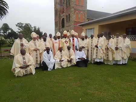 Celebration of the 60th birthday and 30th anniversary of priesthood of Bishop Zolile P. Mpambani