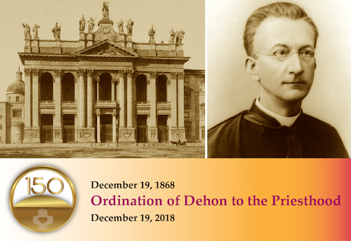 150th Ordination of Dehon to the Priesthood