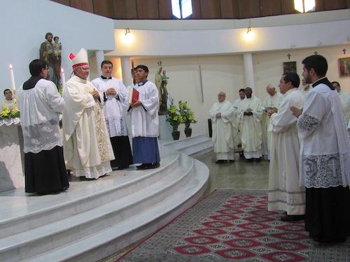 Un nuevo Diácono Dehoniano para la Iglesia