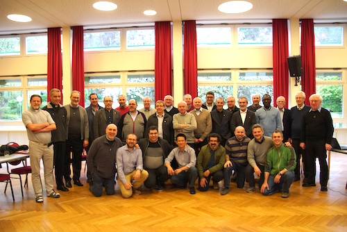 The meeting of the Major Superiors of Dehonian entities in Europe