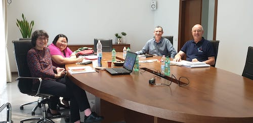 The meeting of International Coordinating Group of  the Dehonian Family