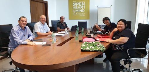 Raduno del Gruppo di coordinamento internazionale della Famiglia Dehoniana