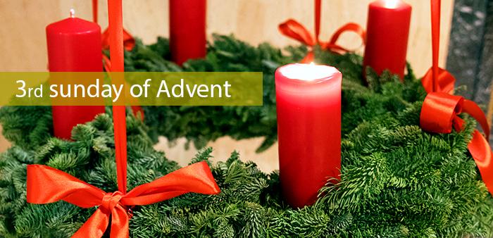 III Sunday of Advent