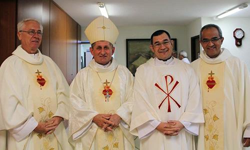 Ordinazione sacerdotale di p. Sérgio S. Matumoto SCJ