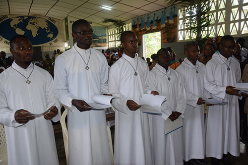 CMR – First religious professions