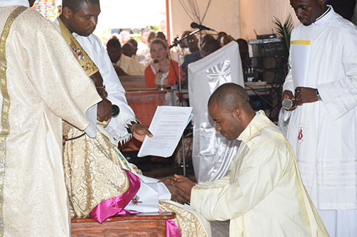 Priestly ordination in the Cameroon Province