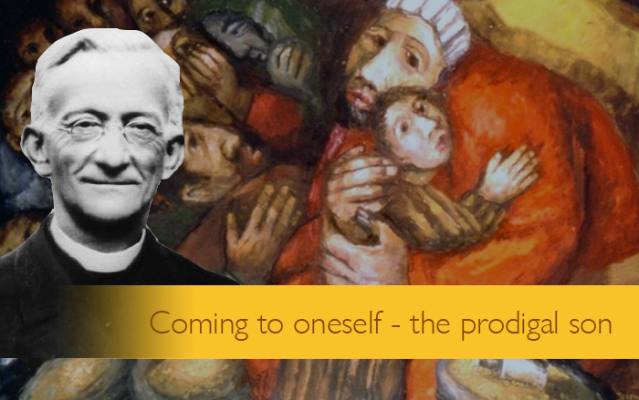 Coming to oneself – the prodigal son