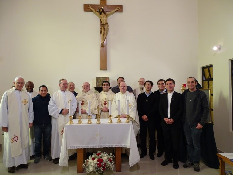 Ingreso de nuevo postulante a la Congregación
