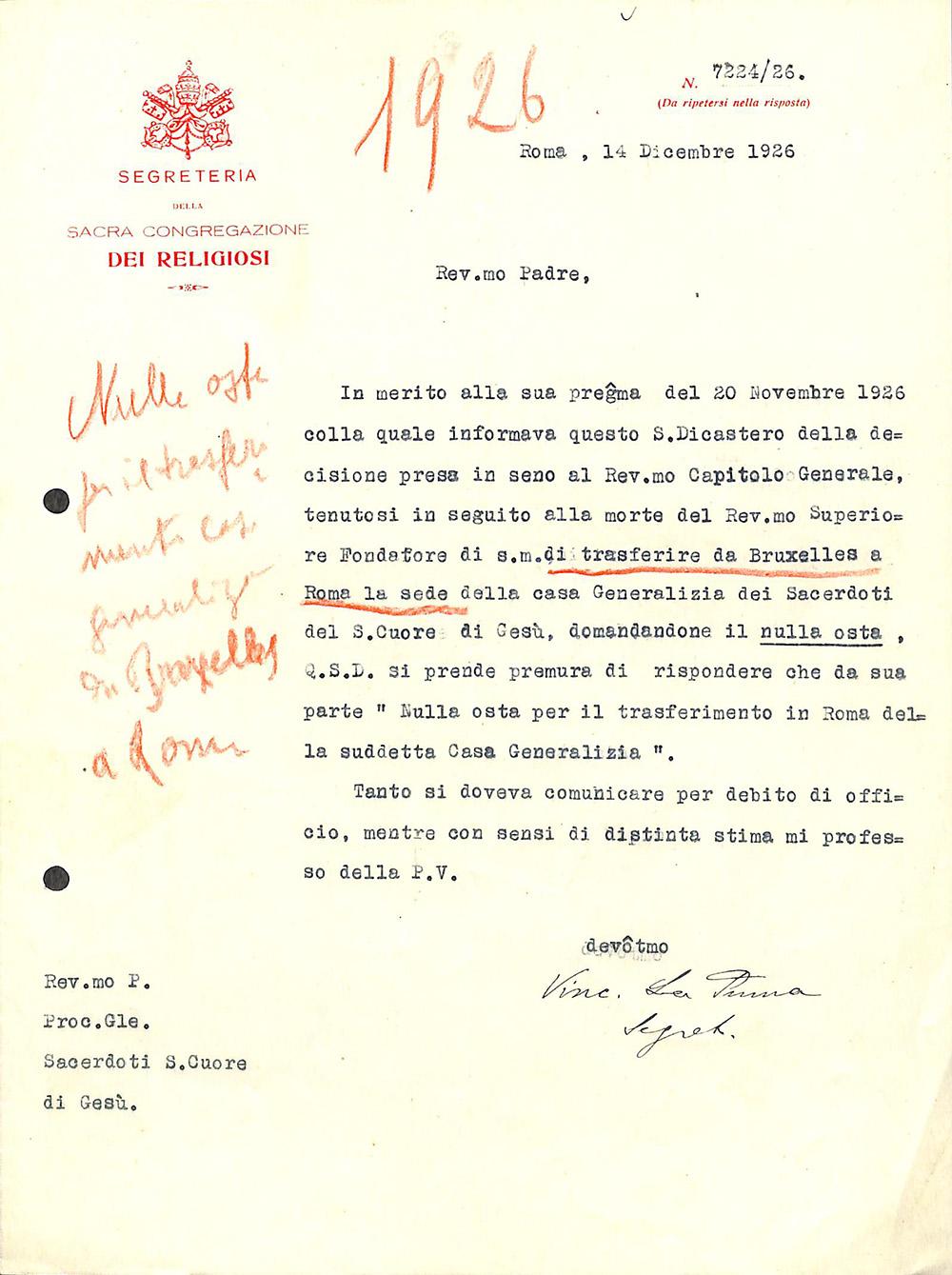 Decreto spostamento_curia-generale