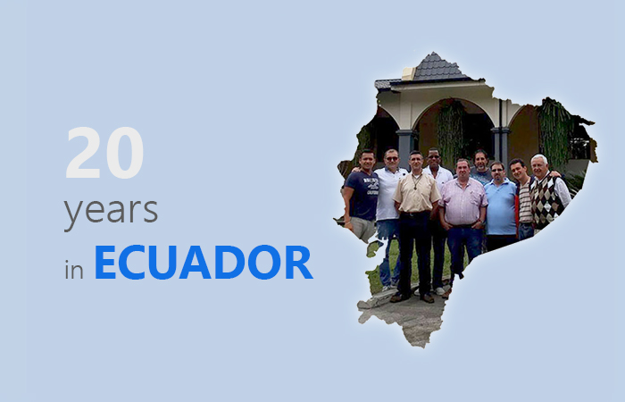 20 years in Ecuador