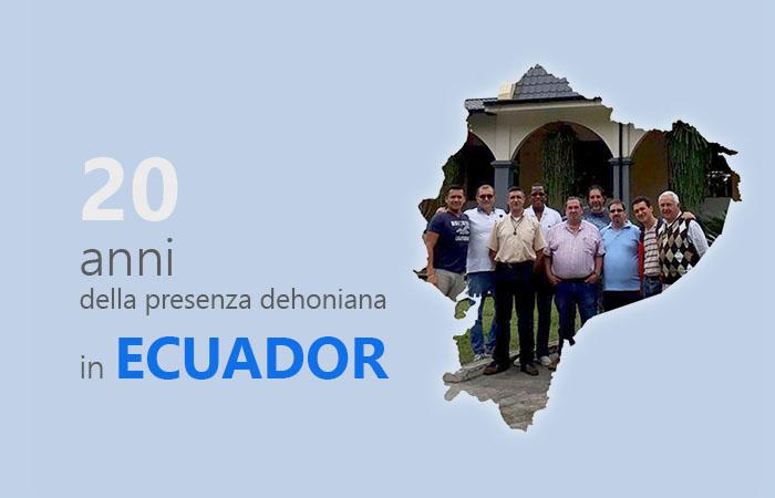 20 anni di presenza in Ecuador