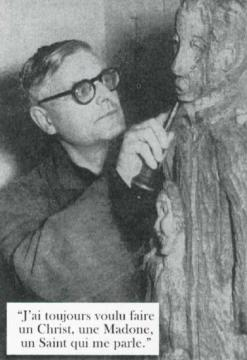 Ausstellung der Holzskulpturen von P. Marcel Denis SCJ