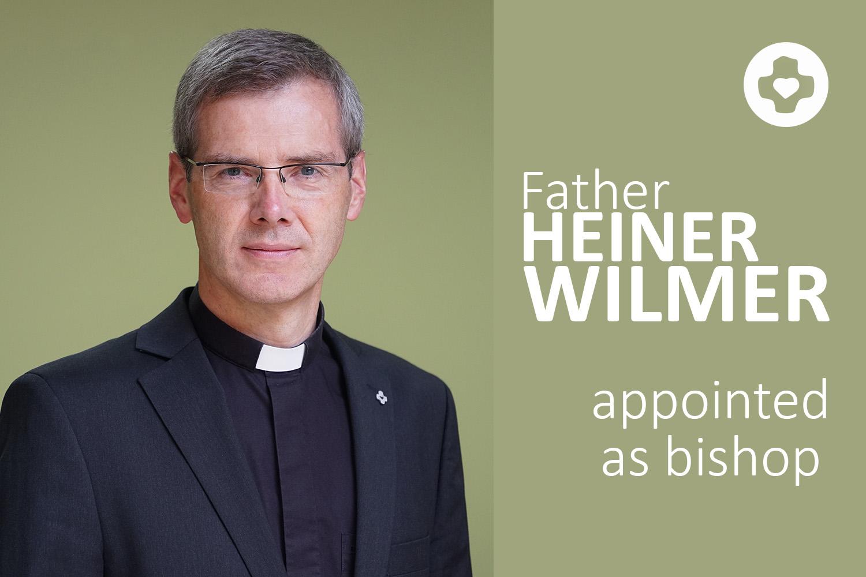 Fr. Heiner Wilmer, SCJ, appointed bishop