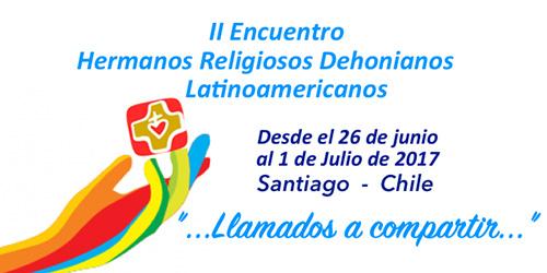 Incontro dei fratelli dehoniani in Cile