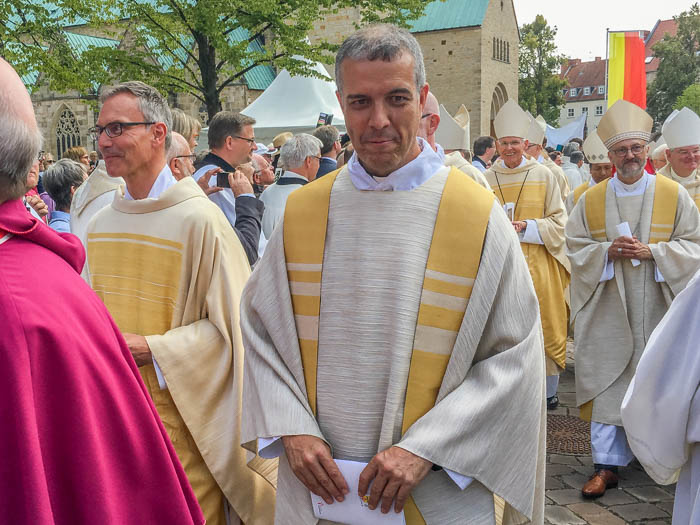 The words of the general superior following the consecration of Fr. Heiner