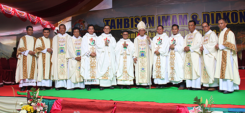 Ordinations in Indonesia