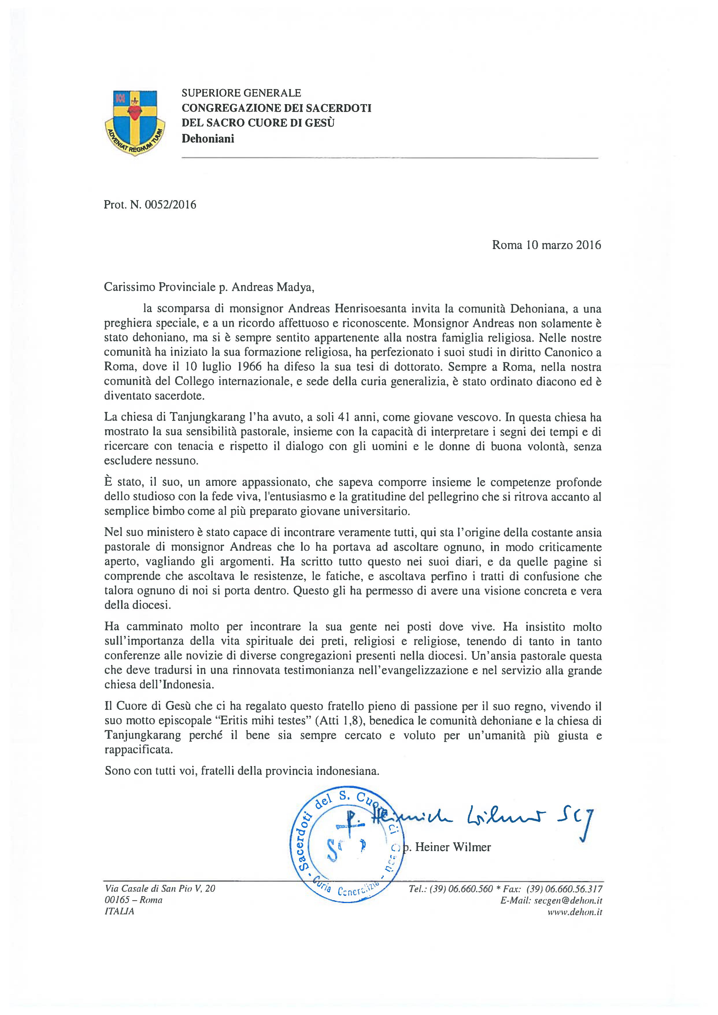 P2016-0052-S-INA-Condoglianza-Provincia-Henrisoesanta