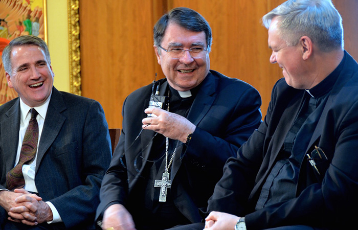 Apostolic nuncio main speaker at Dehon Lecture