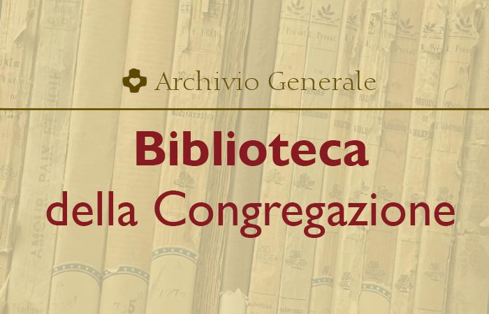 Biblioteca della Congregazione