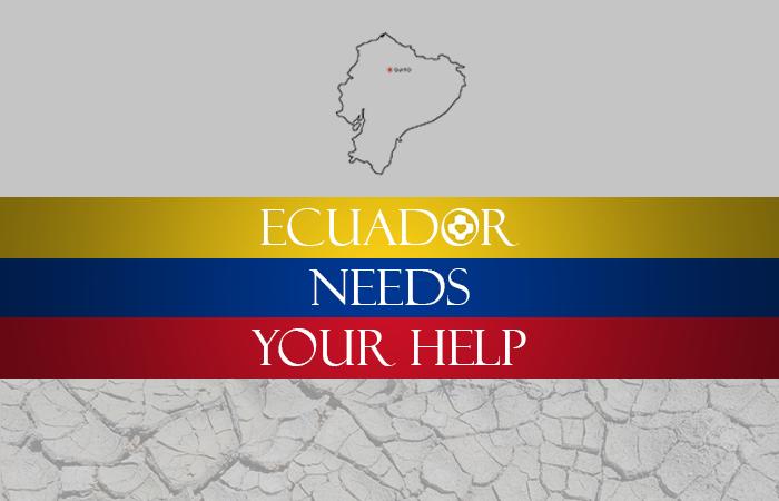 Raising funds for Ecuador