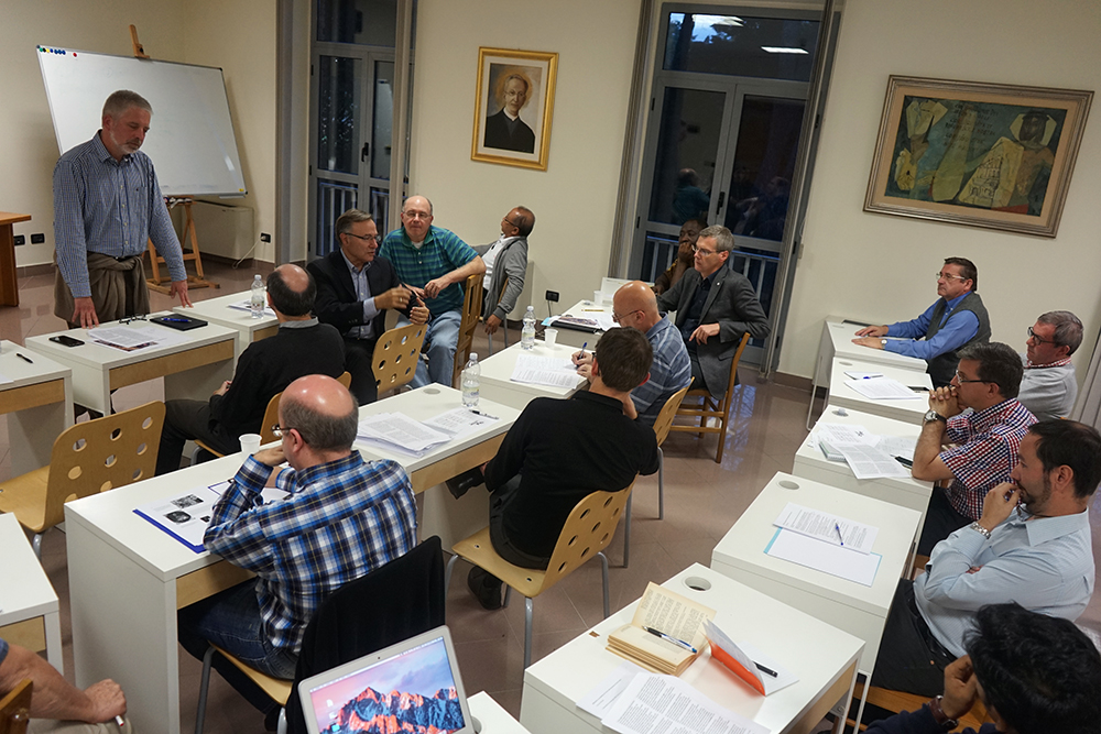 Formation training for the General Curia