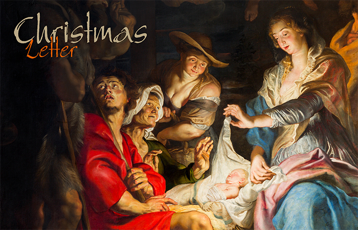 Christmas letter to the Congregation