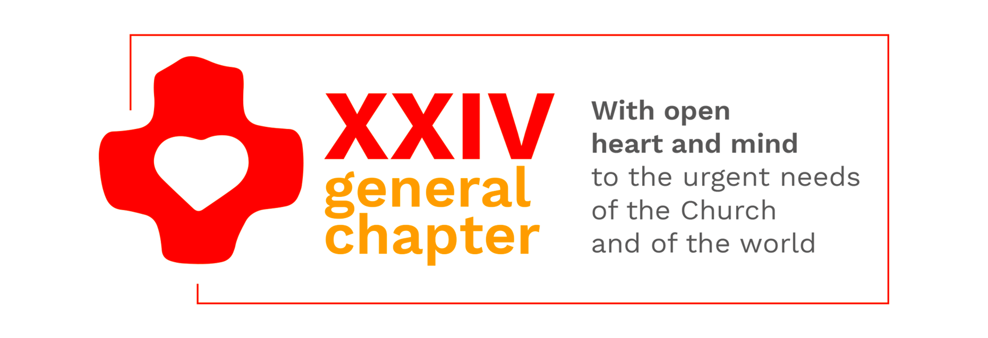 The logo of the XXIV General Chapter