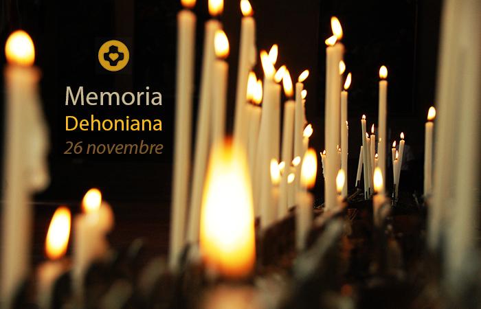 26 novembre: Giornata della Memoria Dehoniana