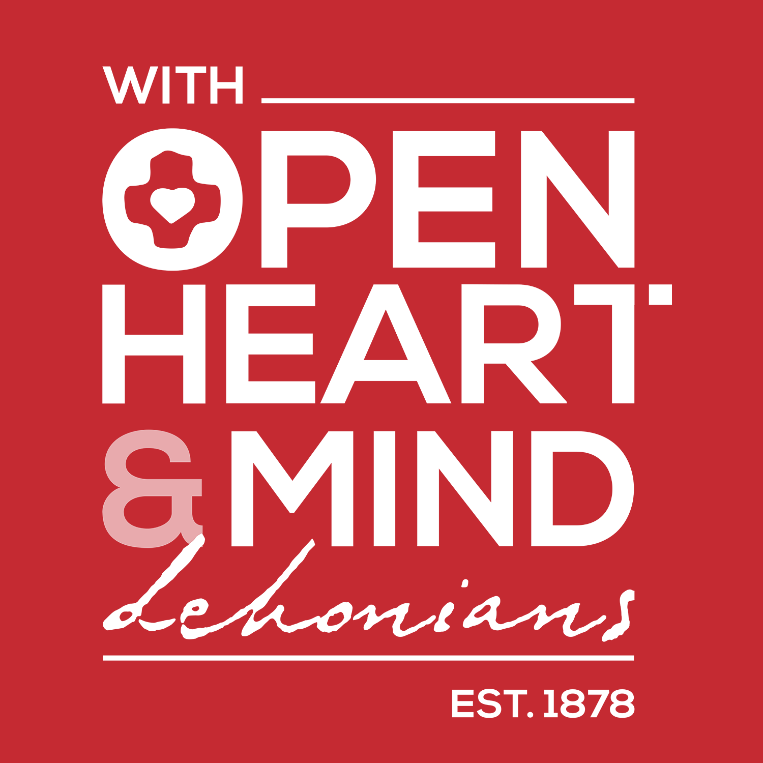 with open heart
