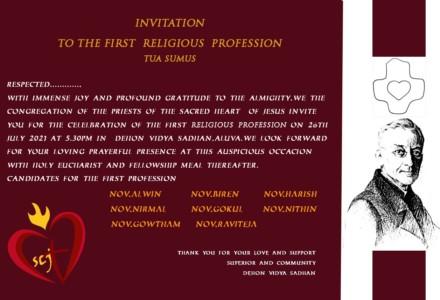 Première profession en Inde