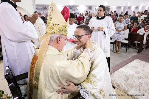 Ordenação Sacerdotal do Padre Bruno