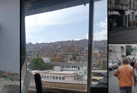 Giorni di terrore a Caracas nel quartiere del cimitero