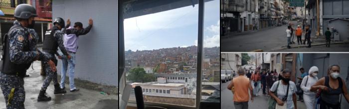 Días de terror en Caracas en el Barrio del Cementerio
