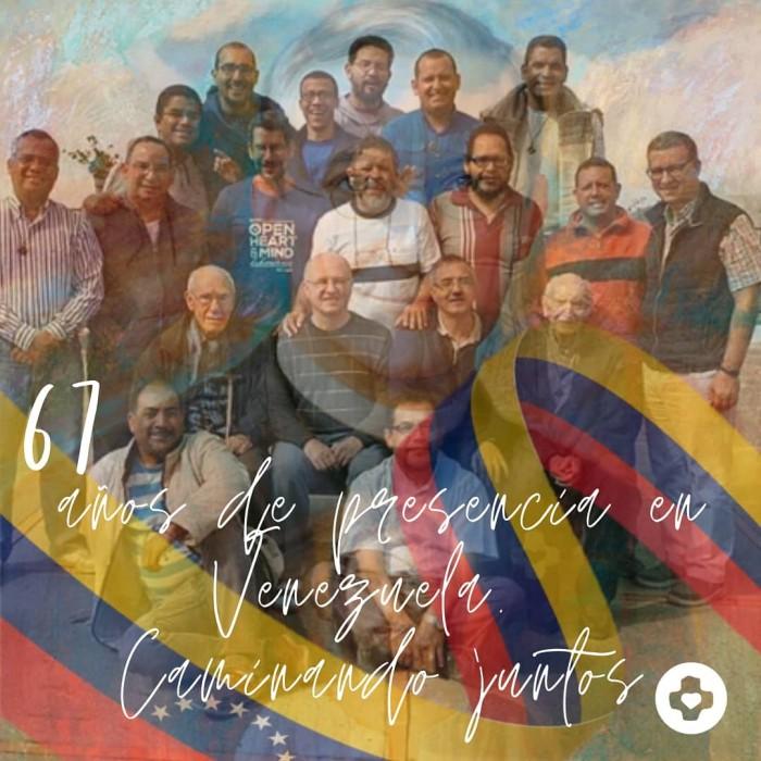 Aniversário de presença SCJ na Venezuela