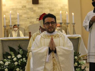 Nouveau prêtre: P. Dalmon Luiz Nogueira Lemos