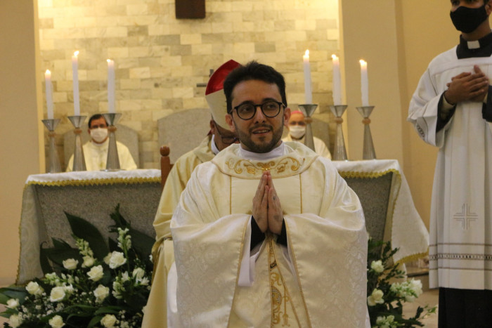 Nuevo sacerdote: P. Dalmon Luiz Nogueira Lemos