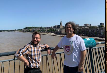Jésus et Michal aux Pays-Bas