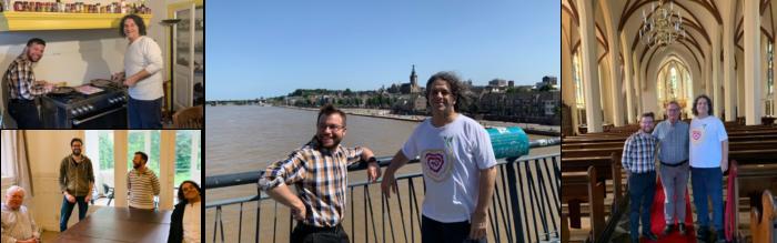 Jesús y Michal en Países Bajos
