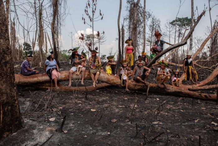La situación de los indígenas en el Brasil