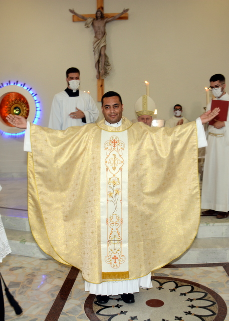 New priest: Fr. Rodrigo Lopes de Araújo