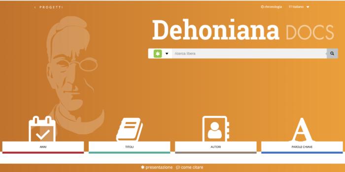 Dehoniana digital completa em italiano e francês