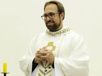 Nuevo sacerdote: P. Tiago Júnior Branco