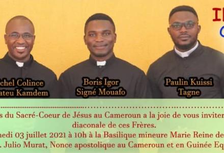 Ordenación diaconal en camerún