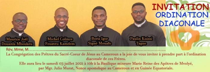 Ordination Diaconale Au Cameroun