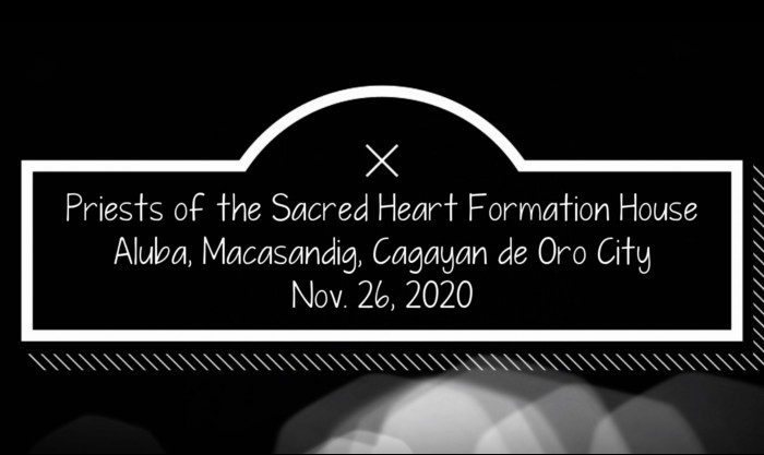 Sacred Heart Formation House (Vídeo)